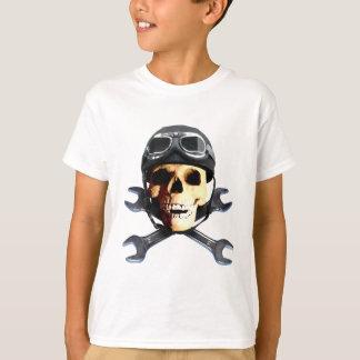 T-shirt Biker Skull B
