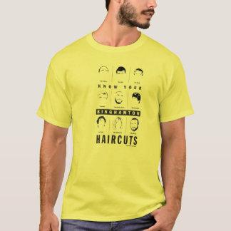 T-shirt Binghamton NY - sachez vos coupes de cheveux