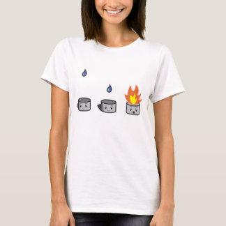 T-shirt bio+combustion de sodium de chemies