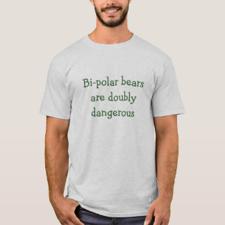 T-shirt bipolaire d'ours
