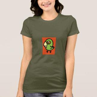 T-shirt birdie verte