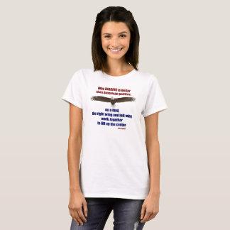 T-shirt Birding et politique T - femmes