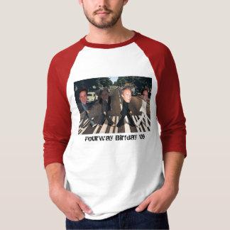 T-shirt Birfday à quatre voies '09