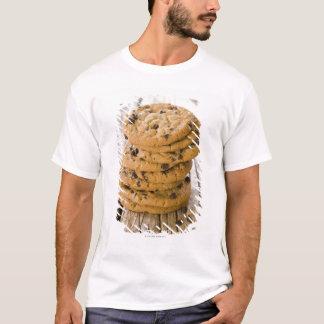 T-shirt biscuits 2 de puce de chocolte