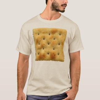 T-shirt Biscuits de soude blancs de Saltine