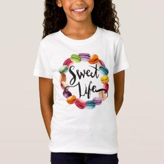 T-Shirt Biscuits doux de Macaron de la vie
