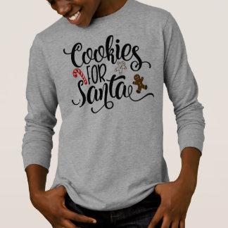 T-shirt Biscuits pour chemise lunatique de douilles de