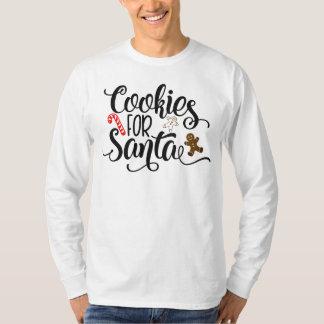 T-shirt Biscuits pour la chemise lunatique de douille des