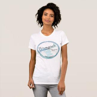 T-shirt Bismarck du Dakota du Nord des femmes