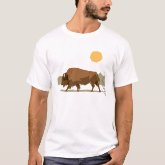T-shirt Bison
