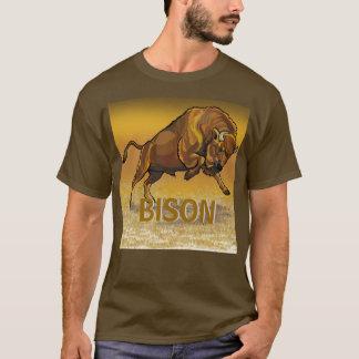 T-shirt bison européen
