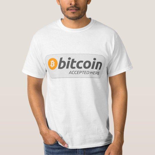T-shirt Bitcoin Accept Here