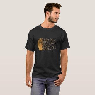T-shirt Bitcoin - devise de Cyber