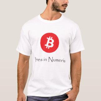 T-shirt Bitcoin - forces dans Numeris