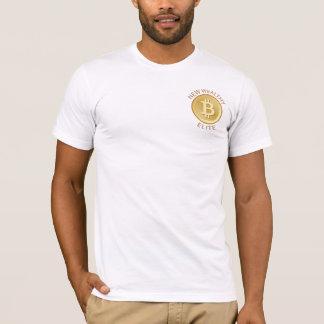 T-shirt Bitcoin - nouvelle élite riche