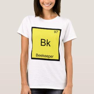 T-shirt Bk - pièce en t drôle de symbole d'élément de