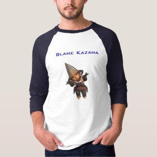 T-shirt BKaz, blâme Kazama
