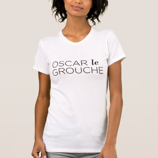 T-shirt Black Oscar le Grouche