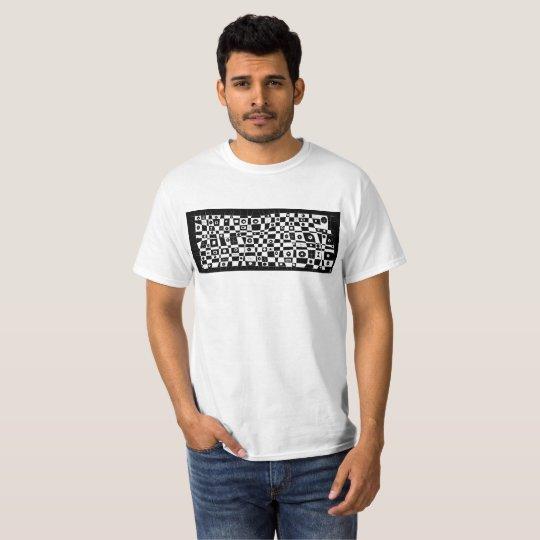 T-shirt black psycho