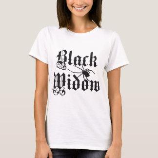 T-shirt Black widow