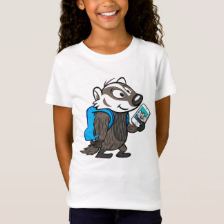 T-Shirt Blaireau Selfie de boomer du raton laveur | de