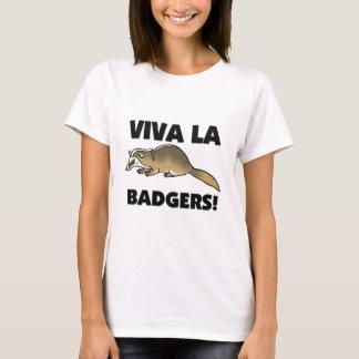 T-shirt Blaireaux de La de vivats