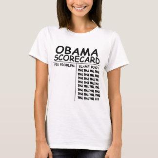 T-shirt Blâme Bush