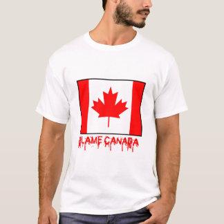 T-shirt Blâme Canada