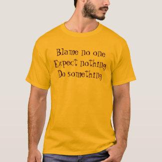T-shirt Blâme personne