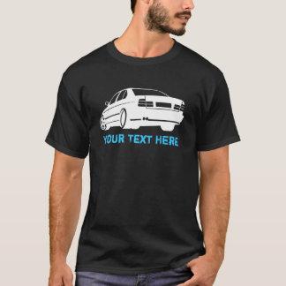 T-shirt Blanc d'E34 M5 + votre texte