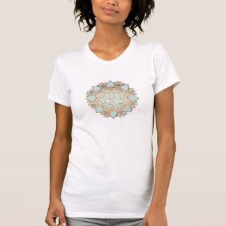 T-shirt Blanc de boutique de la mode des femmes élégantes