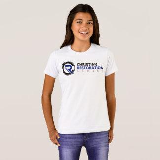 T-shirt blanc de centre de détection et de