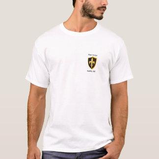 T-shirt Blanc de Fleur de Lys Team