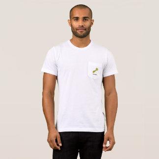 T-shirt blanc de poche de pingouin de très bon