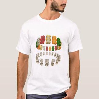 T-shirt BLANC de réflexion de halo de Gummi