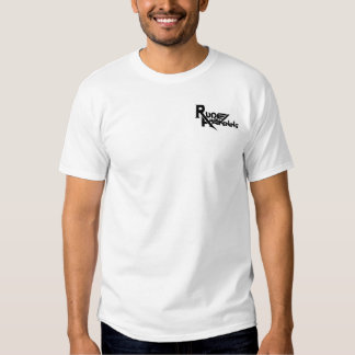 T-shirt blanc de réveil grossier