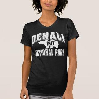 T-shirt Blanc de style ancien de Denali