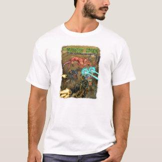 T-shirt blanc d'époque de mutant