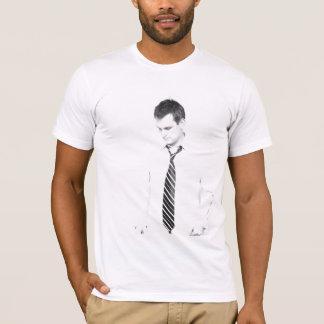 """T-shirt blanc des types """"ami de JCAM"""""""