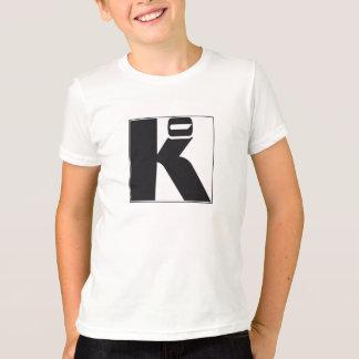 "T-shirt blanc garçon ""Ko"""