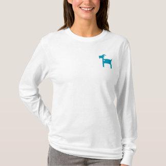 T-shirt blanc longtemps gainé de SOM (coupe