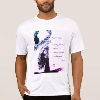 T-shirt Blanc Masculin Taoïsme LaoZi