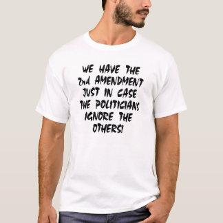 T-shirt Blanc nous avons le 2ème amendement