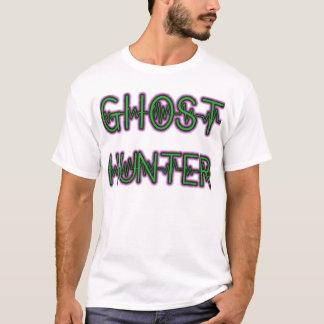 T-shirt Blanc paranormal 2 (de chasseur de fantôme)