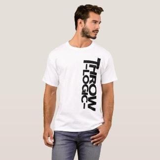 T-shirt Blanc vertical de logo