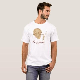 """T-shirt blanc vintage de """"Harry Steve"""""""