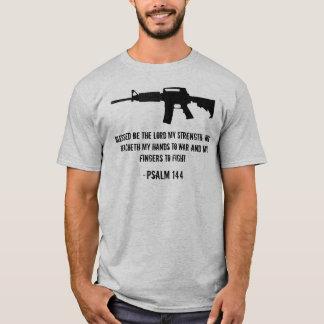 T-shirt Blessed soit le seigneur ma force…