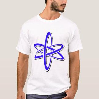T-shirt Bleu atomique