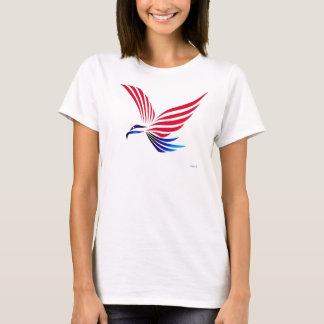 T-shirt Bleu blanc rouge d'Eagle