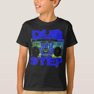 T-shirt Bleu Boombox de Dubstep